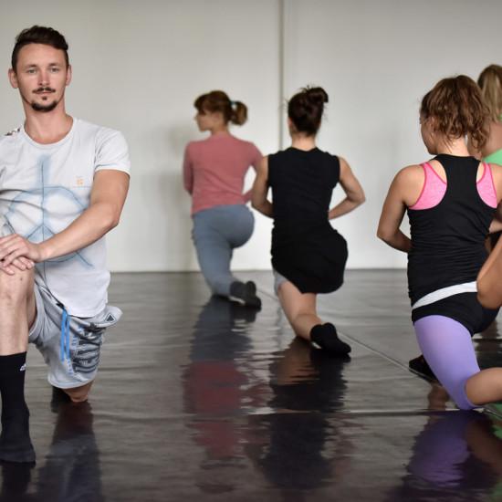 Balett workshop Kiss Róberttel 1.