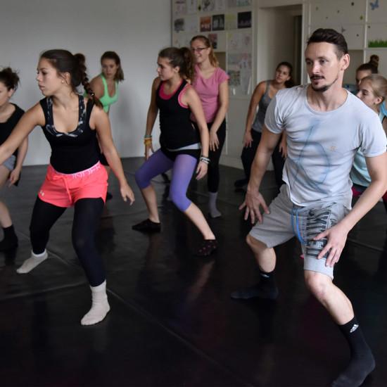 Balett workshop Kiss Róberttel 12.