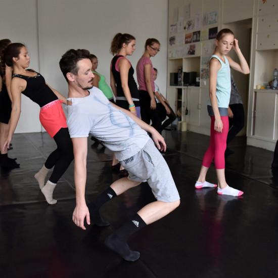 Balett workshop Kiss Róberttel 14.