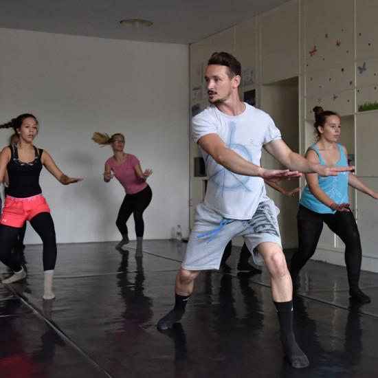 Balett workshop Kiss Róberttel 15.