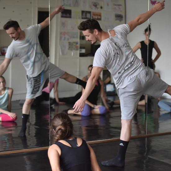 Balett workshop Kiss Róberttel 16.