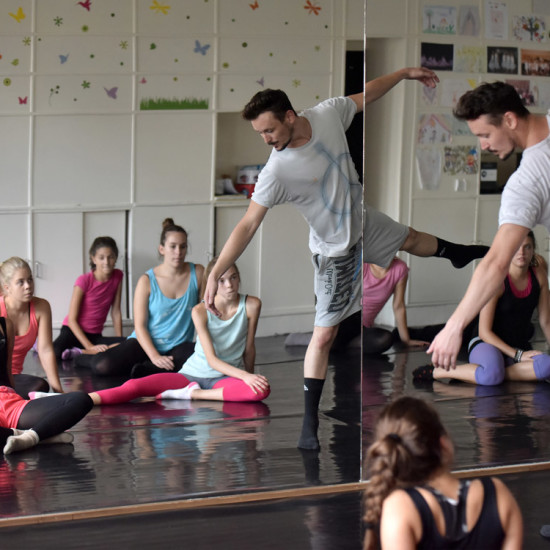 Balett workshop Kiss Róberttel 17.