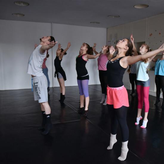 Balett workshop Kiss Róberttel 4.